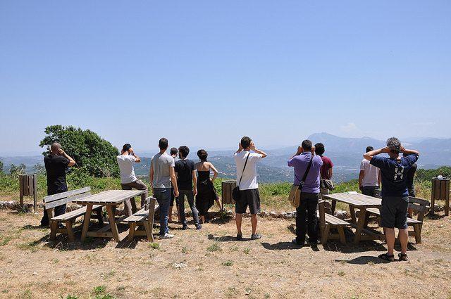 Panorama Irpinia da Summonte