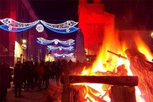 La notte dei falò a Nusco