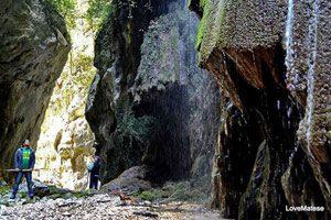Il Canyon dell'Inferno sul Matese
