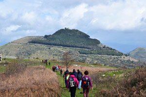 Il sentiero del gufo a Castel Morrone