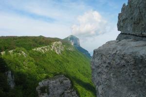 Panorama degli Alburni dal Monte Figliolo