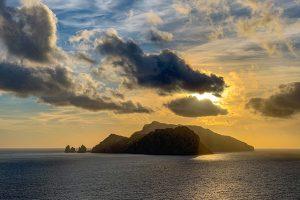Tramonto Capri da Punta Campanella