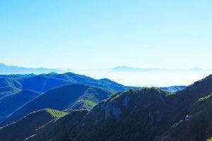 panorama dall'alta via dei monti lattari