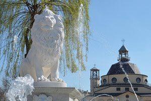 monumento del leone a Lioni