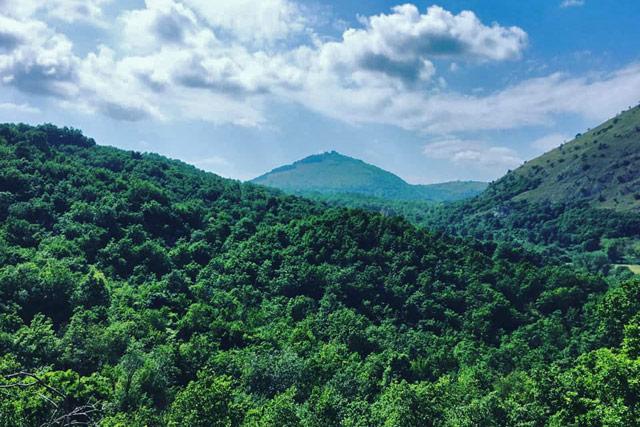 monti Tifatini, panorama