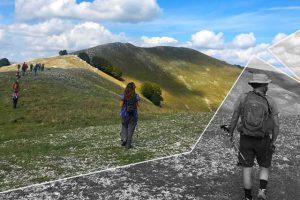 trekking sulla vetta del Monte Polveracchio