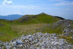 In cima al Monte Cervialto