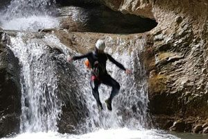Canyoning nelle Gole di Caccaviola