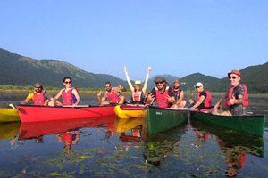 Escursione in canoa sul Lago Matese