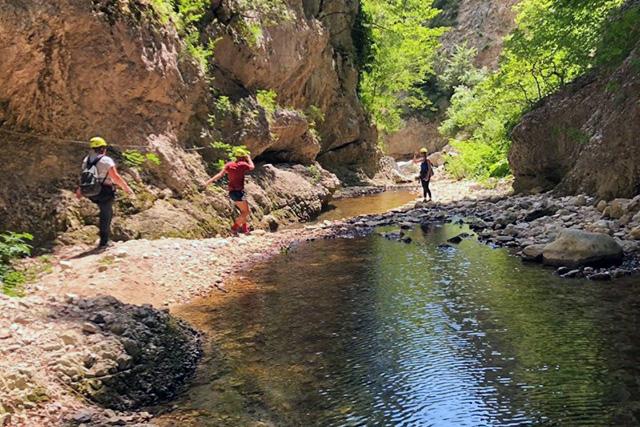 Trekking fluviale Cusano Mutri