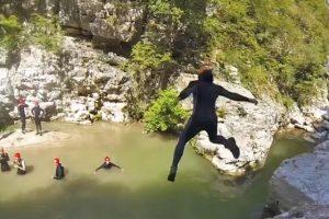 Trekking fluviale a Cusano Mutri nelle Forre di Lavello