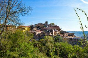 Borgo di Candida, in Irpinia