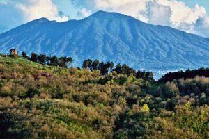 Panorama da lSentiero del Ciuchino sui Colli Tifatini