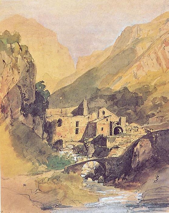 L'antica ferriera del Ducato di Amalfi in un dipinto di Carl Blechen (1829)