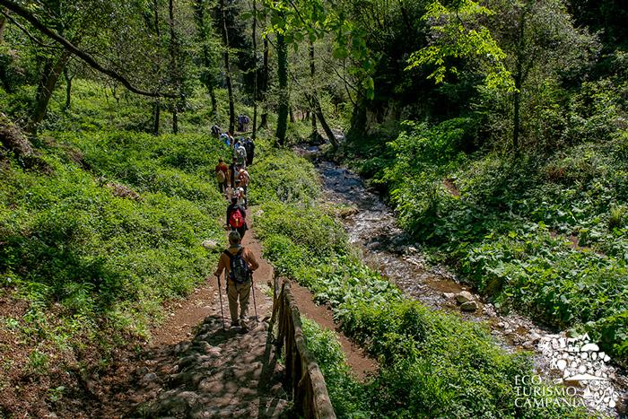 Trekking nel vallone dei mulini ad Amalfi (ph Gianfranco Adduci)